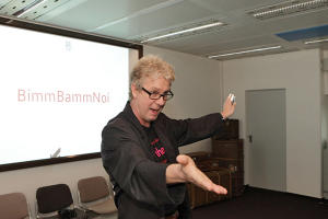 Peter Pakulat in einem seiner Workshops.