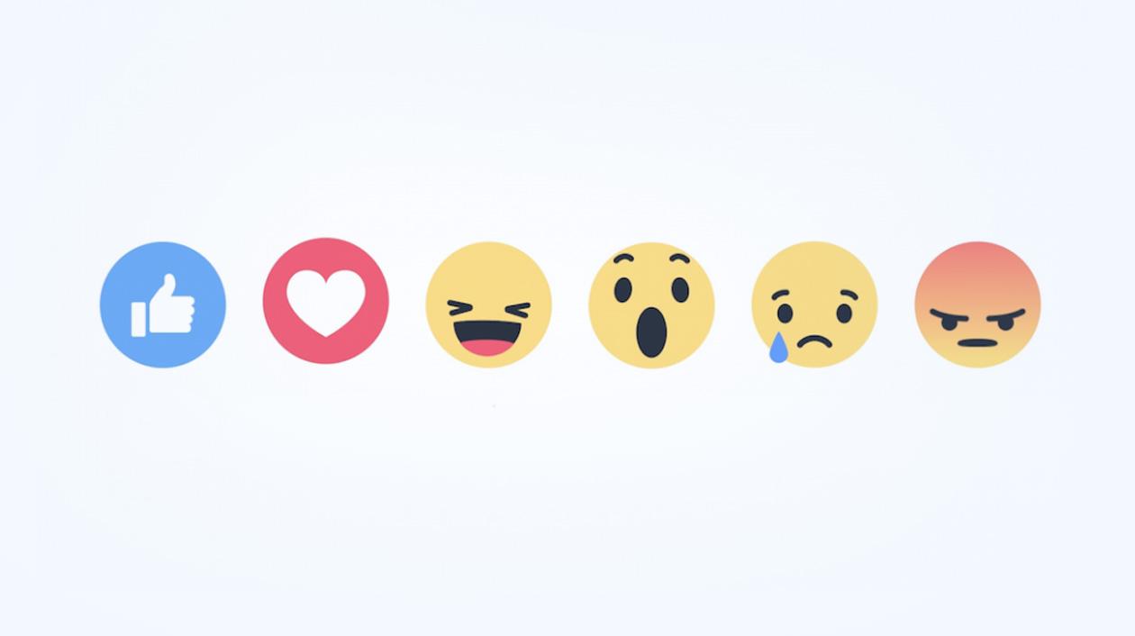 Reaktionen Facebook