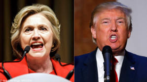 Menschen auf der ganzen Welt glauben an einen Wahlsieg Clintons