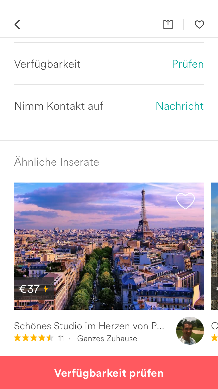 Neukundenrabatt Airbnb