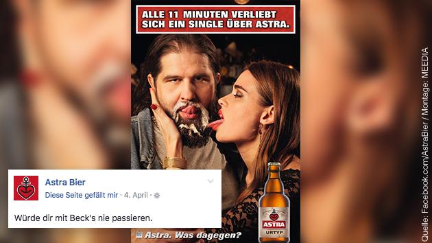 """""""Alle 11 Minuten verliebt sich ein Single über Astra: So"""