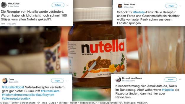 Nutella rezept veranderung