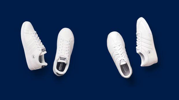 Das dachte sich auch Lufthansa-CEO Carsten Spohr und verschenkt Adidas-Sneaker  mit neuem Logo der Airline. d719298f67