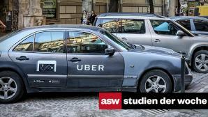 Studien der Woche: Fahrdienst Uber vor allem bei Jüngeren gefragt