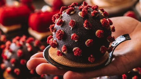 Virus Cake