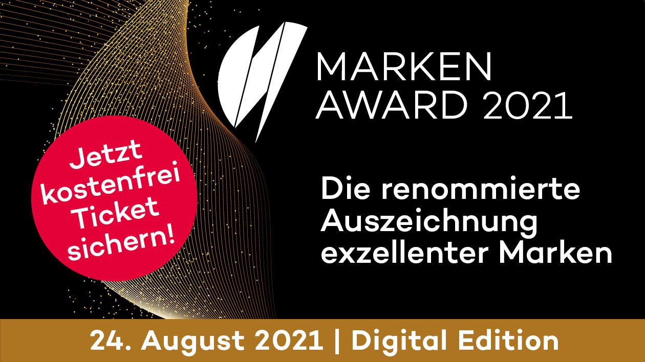 Marken-Award 2021: Der Countdown läuft!